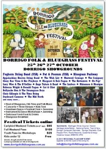 Dorrigo Folk Bluegrass Festival